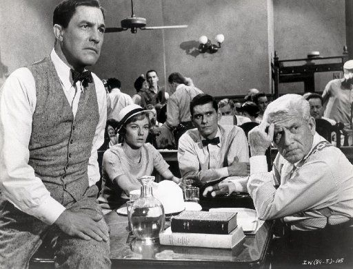 """Inherit the Wind is loosely based on the 1925 """"monkey trial"""" about high school teacher John T. Scopes."""