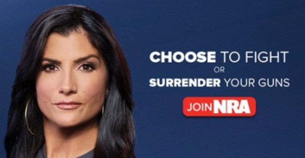 Dana Loesch, a Dallas-based host on NRA TV, was featured on a recent NRA ad warning of gun confiscation.