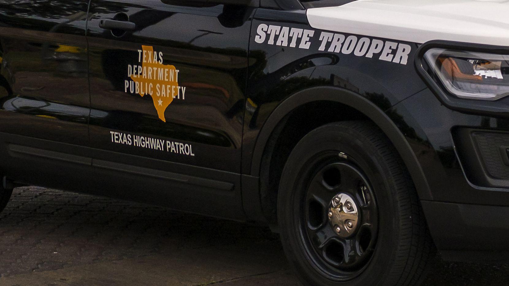 Un auto del Departamento de Seguridad Pública de Texas.