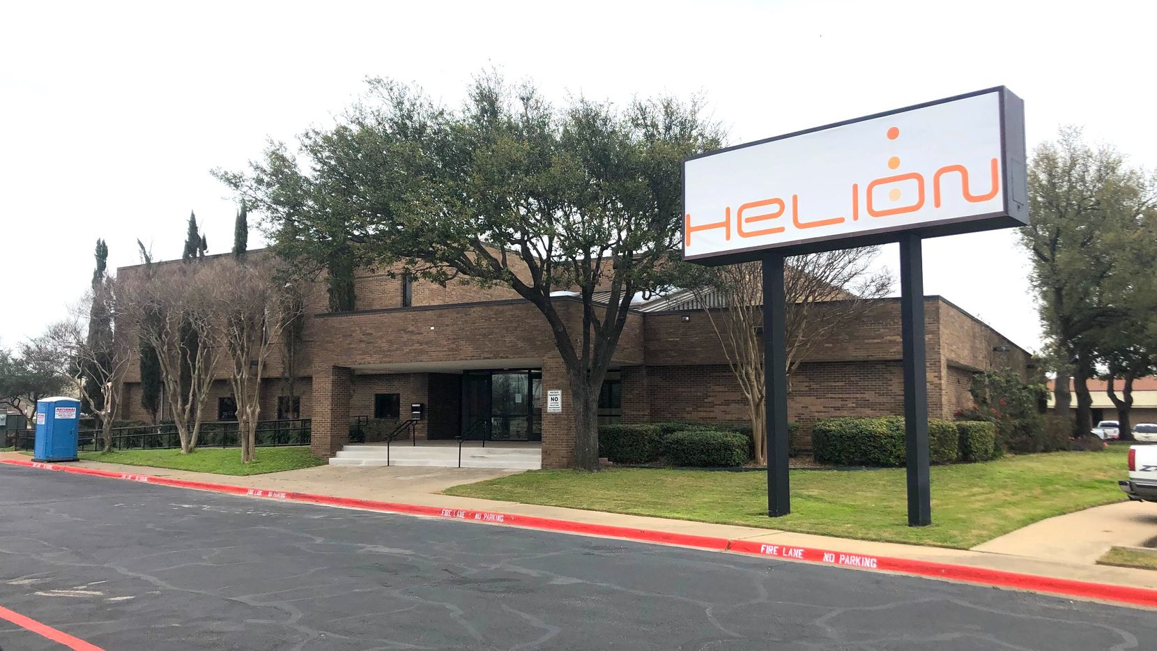 Helion Technologies' new, renovated offices in Garland. Forty employees have already moved in, and the company is looking to triple its workforce in the coming years.