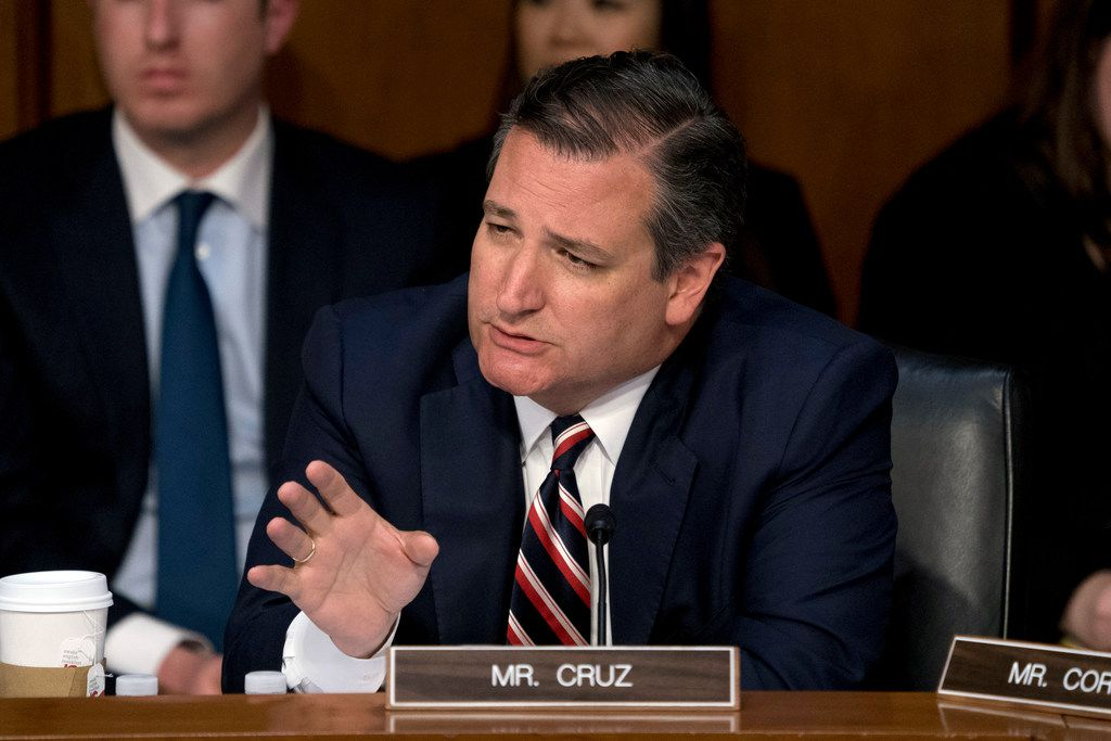 """There are a great many Americans who I think are deeply concerned that Facebook and other tech companies are engaged in a pervasive pattern of bias and political censorship,"" Sen. Ted Cruz, R-Texas, said Tuesday in his questioning of Facebook CEO Mark Zuckerberg."