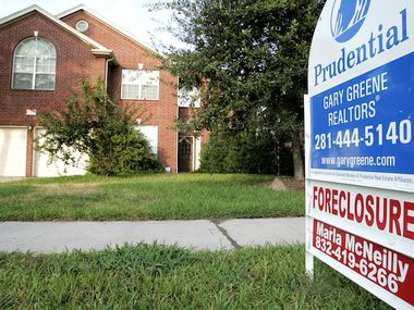 While mortgage delinquency rates are soaring, foreclosures remain low so far.