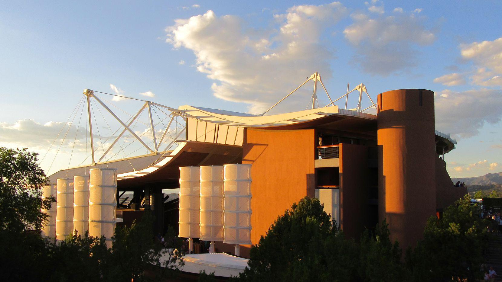 Santa Fe Opera's Crosby Theatre in New Mexico (Scott Cantrell/Special Contributor)