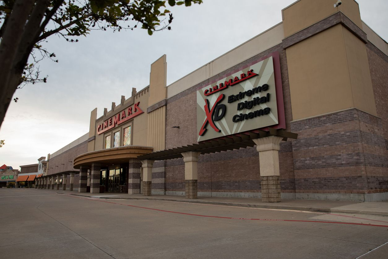 Cinemark closed all of its theaters in March to stem the spread of coronavirus.