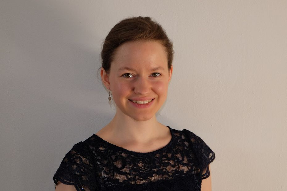 Katharina Wincor, the Dallas Symphony Orchestra's new assistant conductor.
