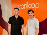 Michael Walsh (left) and Steven Theesfeld are co-founders of health care technology company Cariloop.