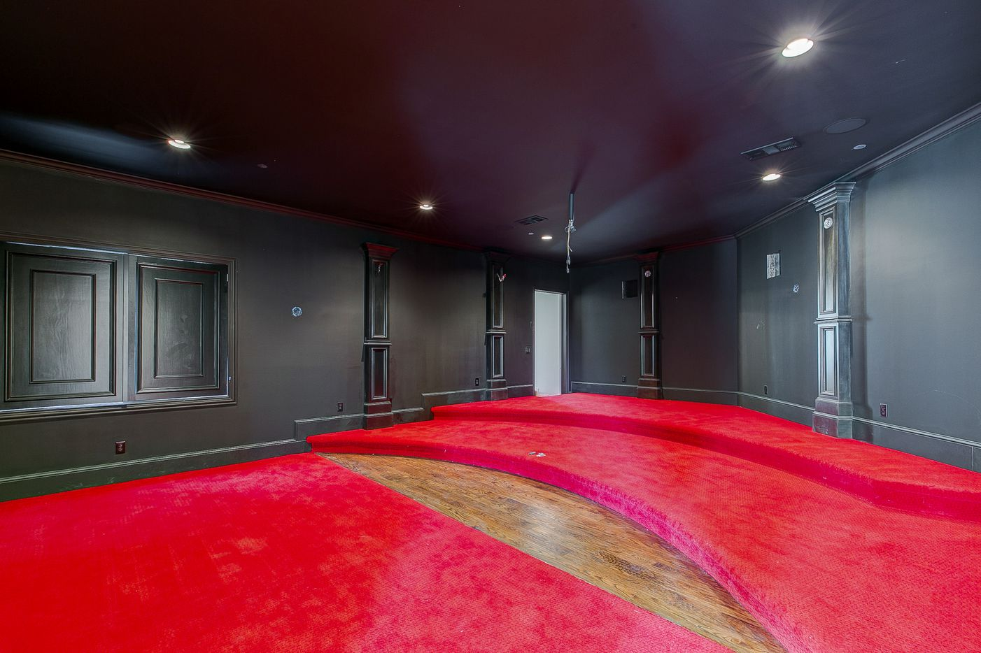 Media, or theater, room at 2000 Willow Bend Drive. (Norman and Young)