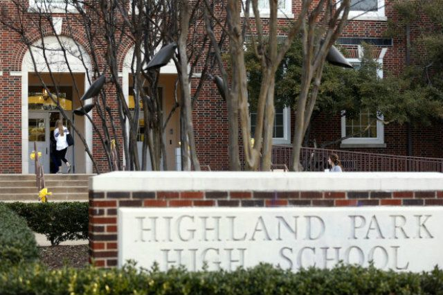 Highland Park High School as seen on Aug. 26, 2019. Highland Park ISD was highly rated by Niche for its graduation rate, its student-teacher ratio and its finances, as well as as its athletics.