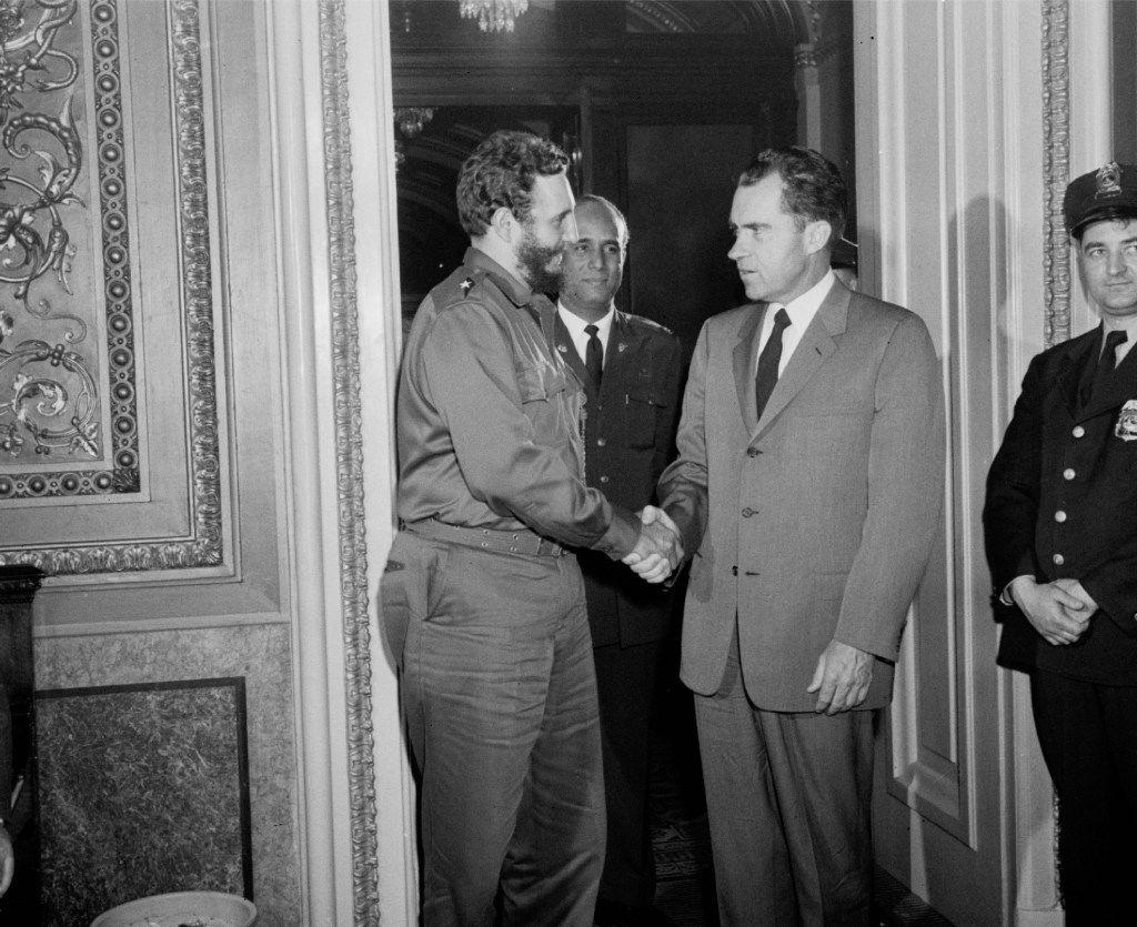In April 1959, Vice President Richard Nixon met with Fidel Castro in Washington, D.C.