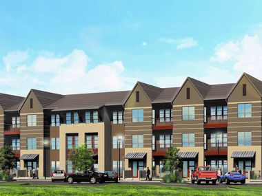 JPI's Jefferson at the Grove apartment are under construction near the border with McKinney.