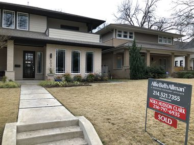 Real estate agents have sold more than 33,000 North Texas homes in the first four months of 2021.
