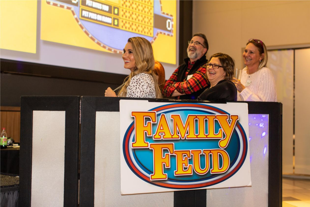 Republic Title held its own version of Family Feud at one of its office parties.