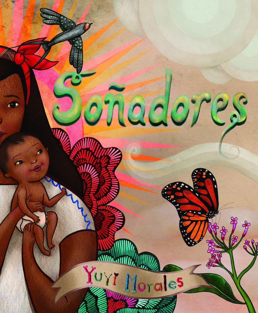 Yuyi Morales' Dreamers is available in Spanish as Soñadores. (Holiday House)