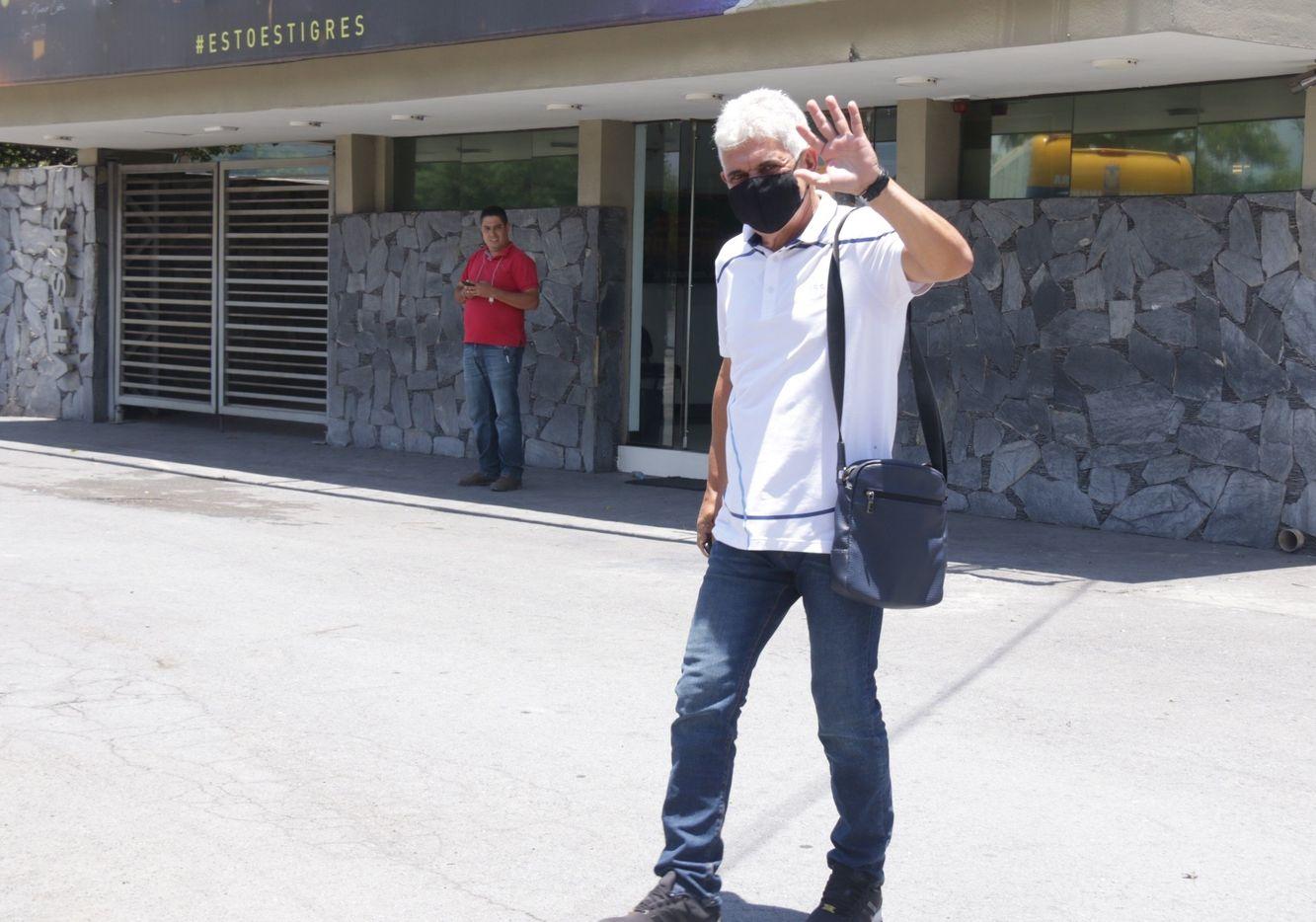 """Ricardo """"Tuca"""" Ferretti tiene 11 años al frente de Tigres, pero parece que su tiempo de dejar al cuadro felino ha llegado."""