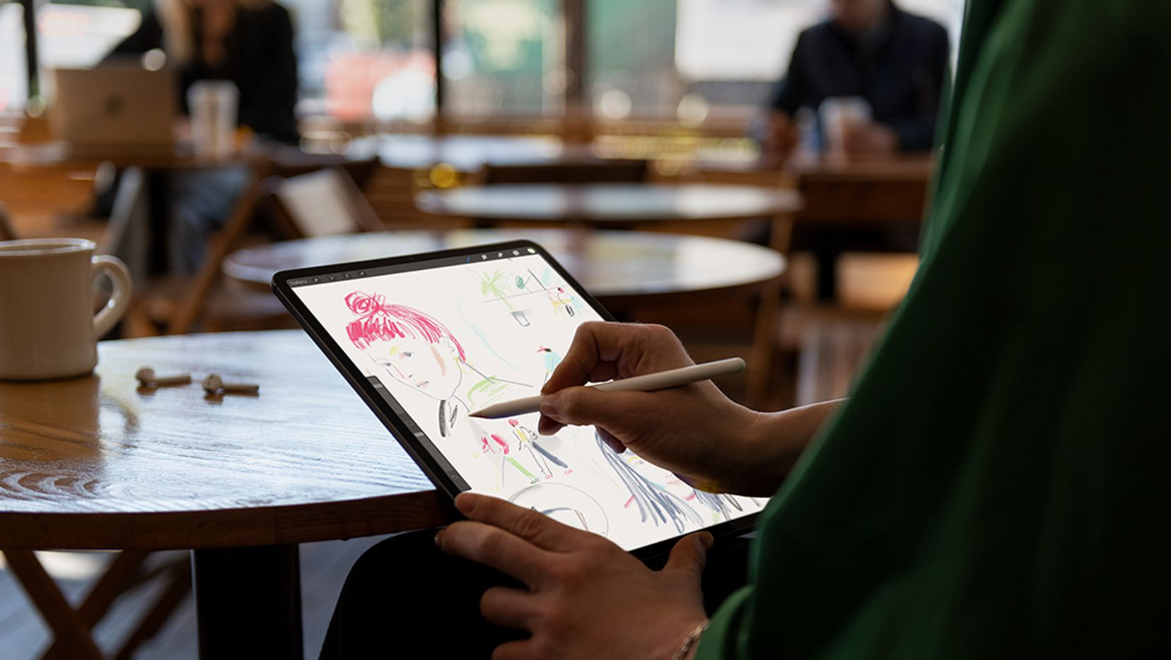The new iPad Pro has a new optional Pencil