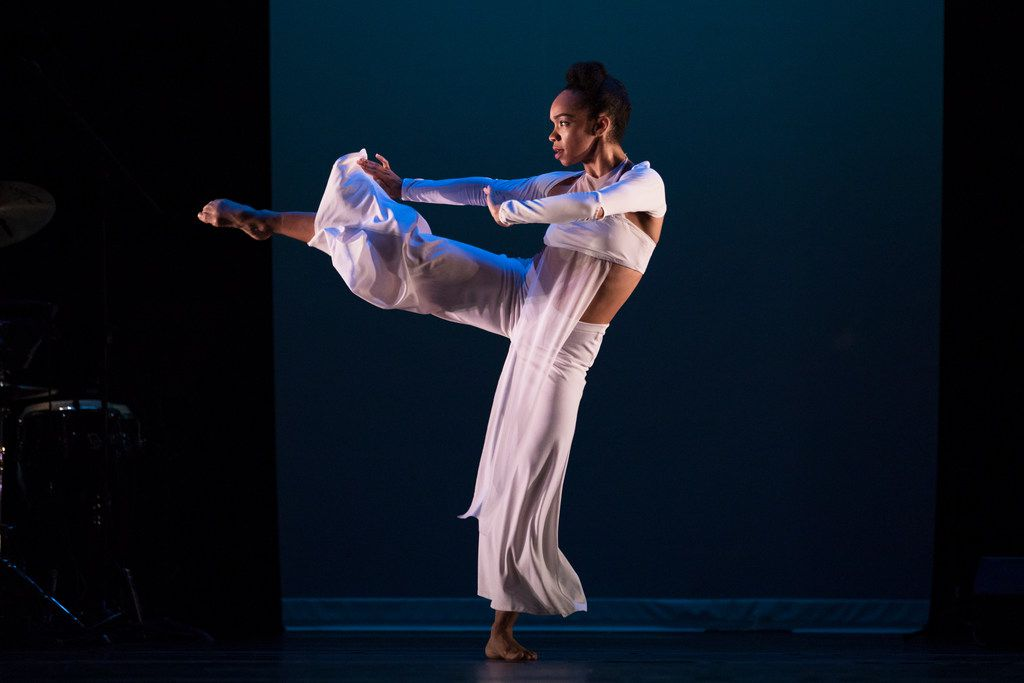 Annique Roberts of Evidence: A Dance Company in artistic director Ronald K. Brown's Grace.