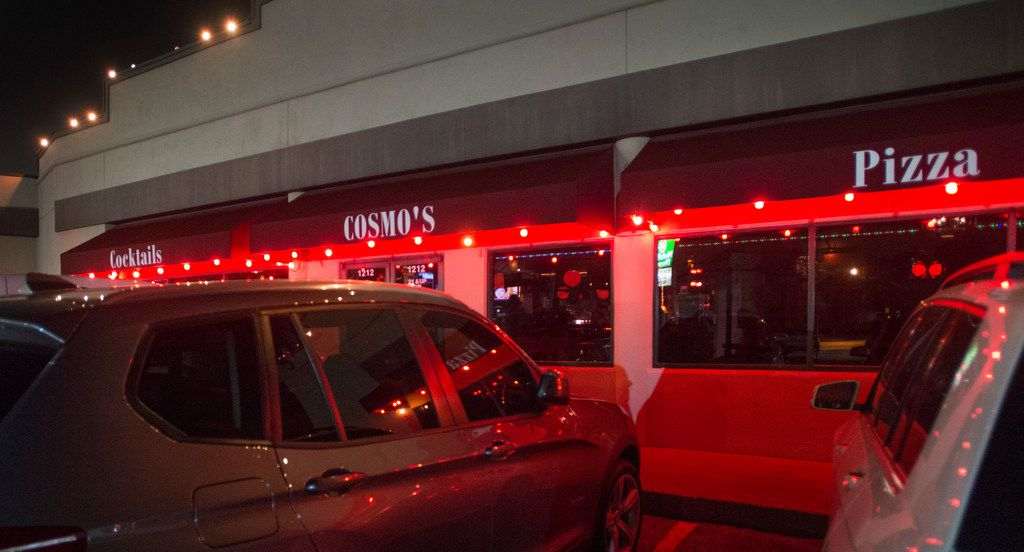Exterior of Cosmo's in Dallas, Texas on July 11, 2018. (Robert W. Hart/Special Contributor)