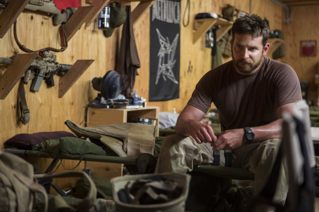 """In this image released by Warner Bros. Pictures, Bradley Cooper appears in a scene from """"American Sniper."""""""