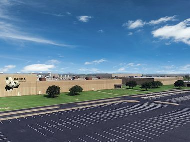 A rendering of the finished Panda Biotech facility planned for Wichita Falls. It will be the largest in the U.S., according to the company.