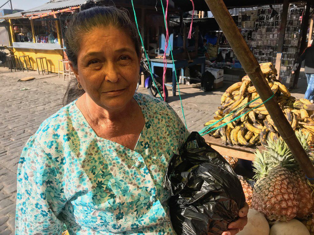 Lillian Martinez, 64, hasn't seen her sons in nine years since they departed for the United States. But she says their absence helps her survive economically via the remittances she receives bi-monthly.