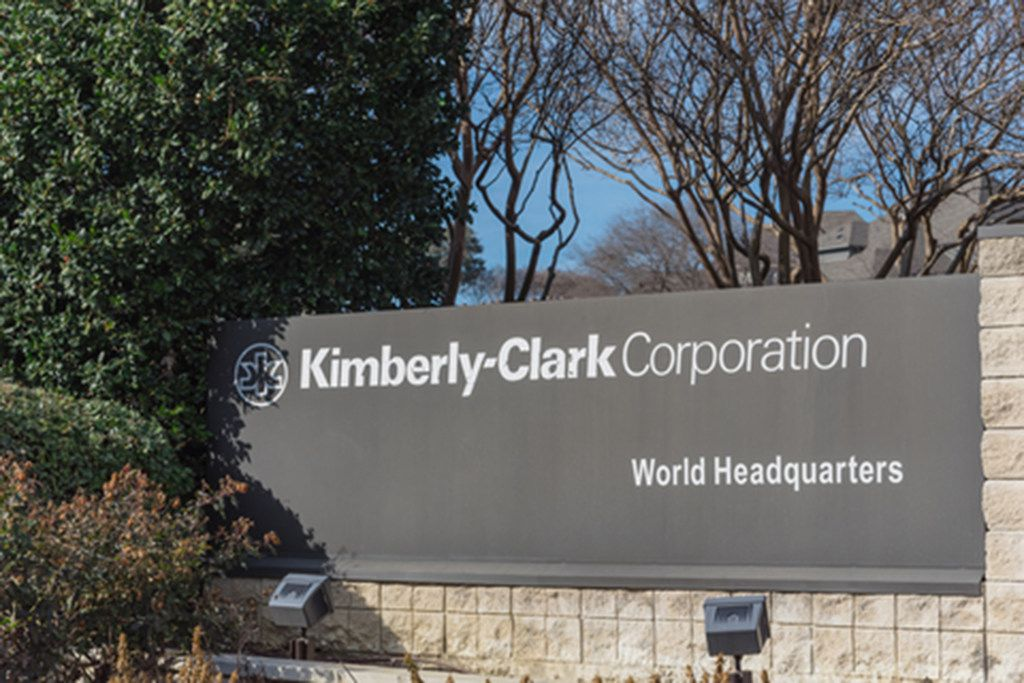 Entrance to world headquarters of Kimberly-Clark in Irving, Tex (Dreamstime/TNS)