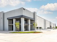 The two-building Denton Crossing business park is near Interstate 35.