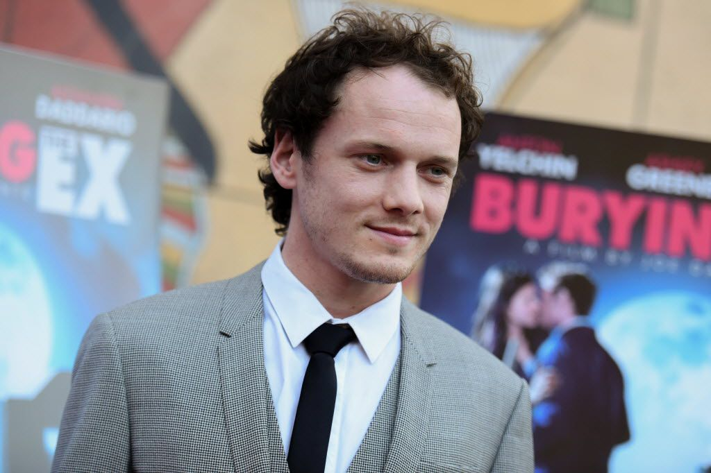 """Anton Yelchin arrives at a special screening of """"Burying the Ex"""" in Los Angeles."""