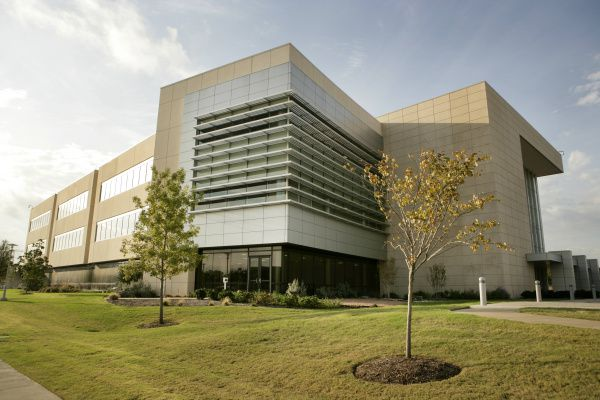 BioCenter at Southwestern Medical District photographed October 26, 2011. The building is designed to be the hub for commercial life-science in the Dallas area. (Evans Caglage/The Dallas Morning News)