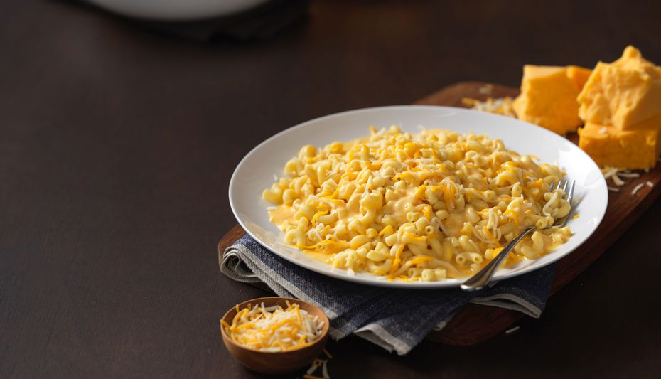 One of Noodles & Company's most popular dishes is its mac and cheese, available in four varieties. (Pictured here: Wisconsin mac and cheese.)