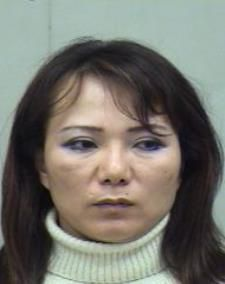 Helen Yu Kim was arrested on prostitution charges before, in April 2007