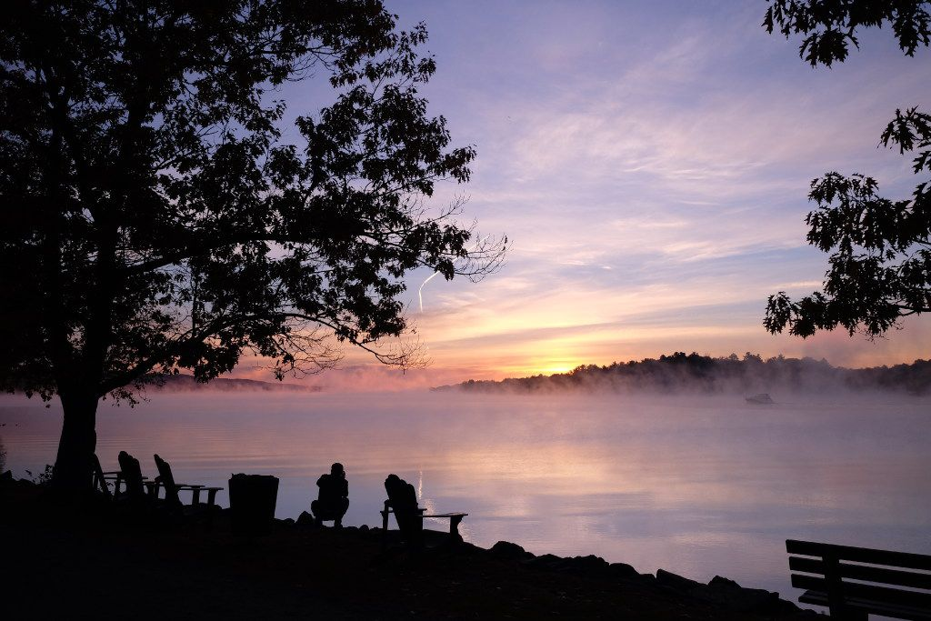 A sunrise on the Ottawa River can be a magical thing at the Fairmont Montbelleo in the province of Quebec. The low Canadian dollar makes Canada especially attractive right now.