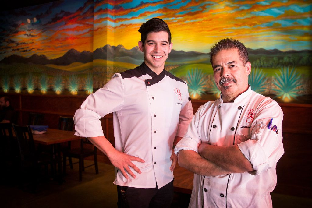 Father and son chefs Beto and Julian Rodarte will be on 'Beat Bobby Flay' on Oct. 18.
