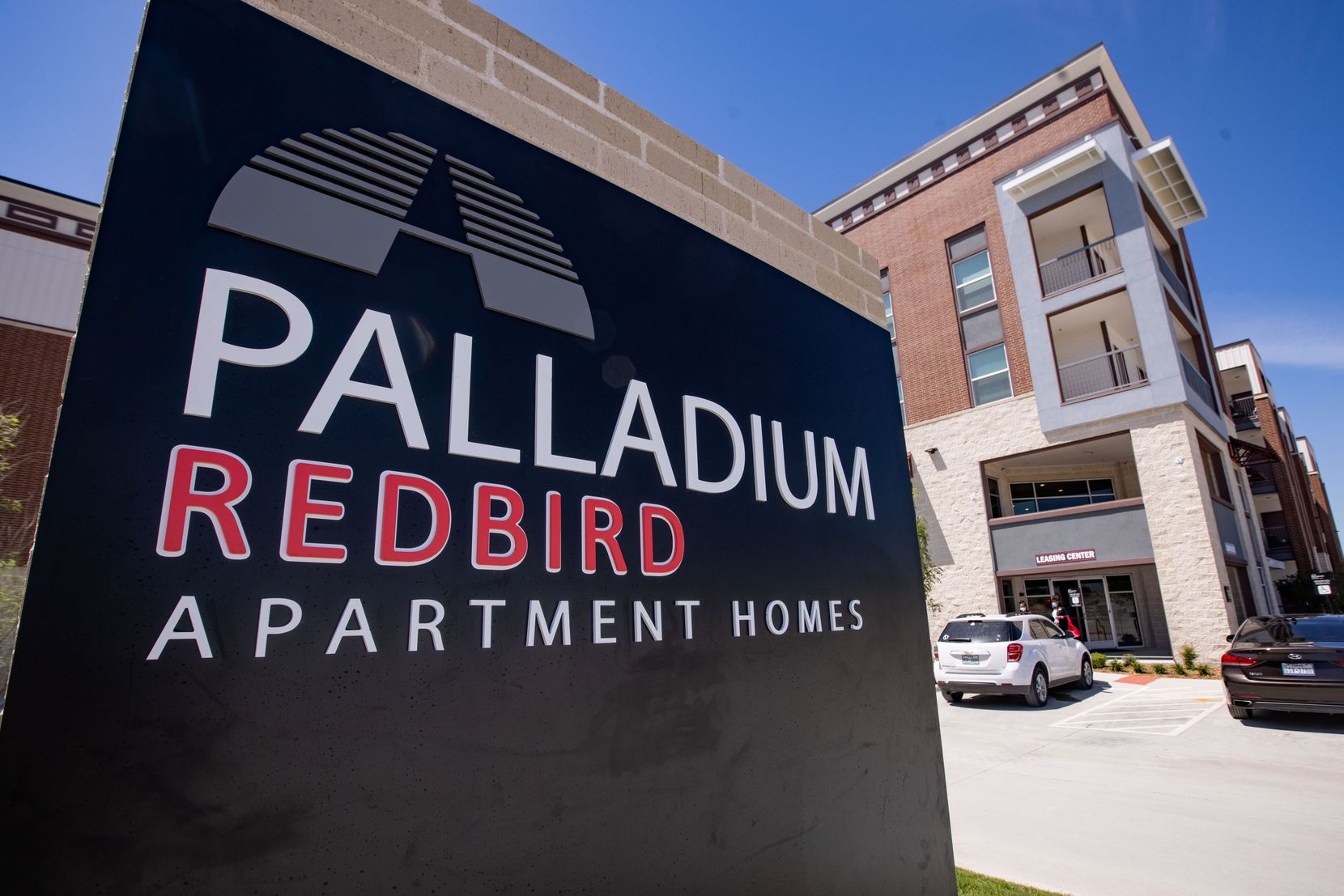 Palladium USA's 300-apartment project in Dallas' Red Bird area is part of the redevelopment of the old Red Bird Mall and is more than 90% leased. Rents start at less than $1,000 and go up to more than $1,800 a month.