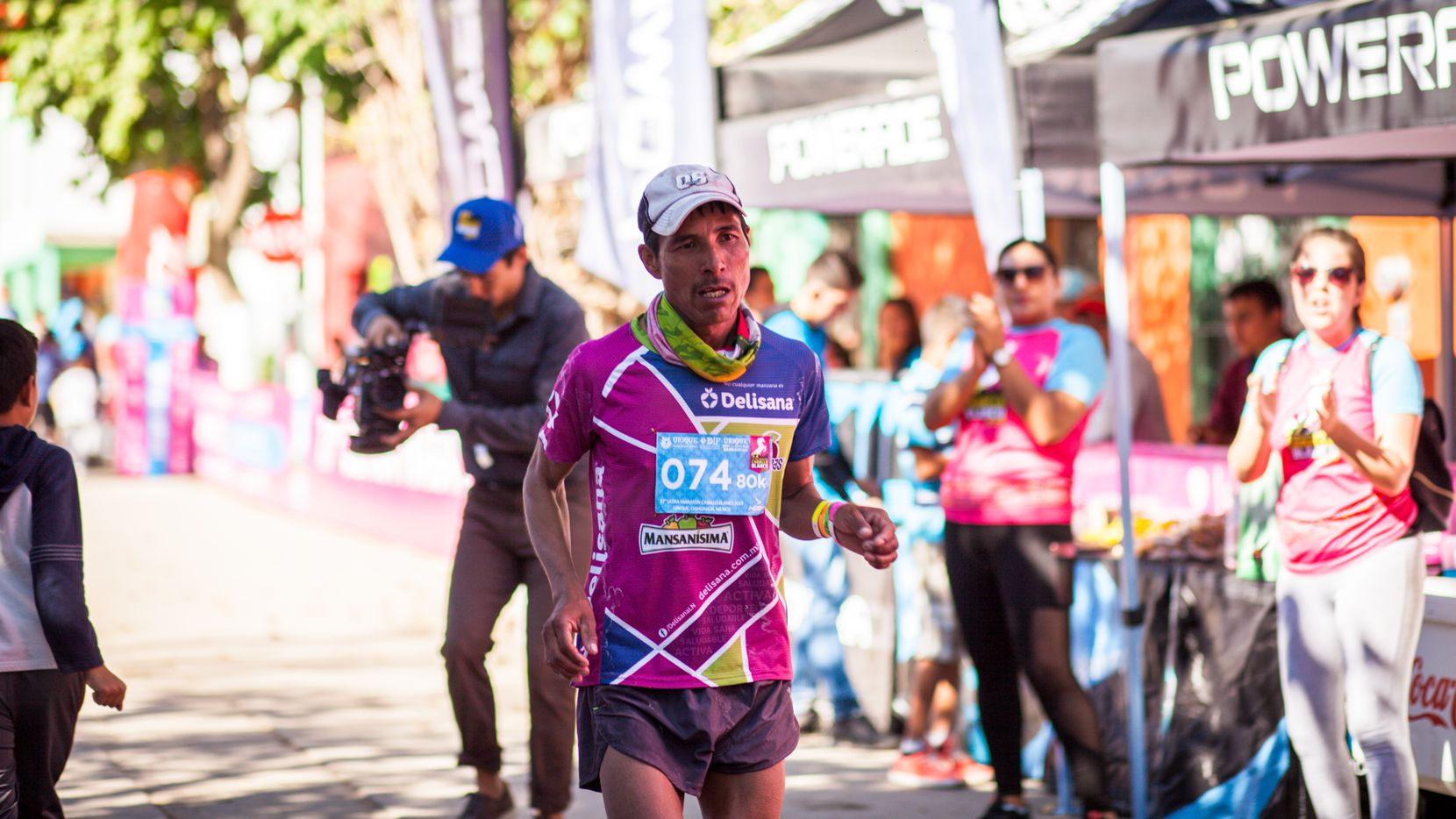 """Silvino Cubésare, a Tarahumara runner included in the documentary """"The Infinite Race"""" from ESPN's 30 for 30 series."""