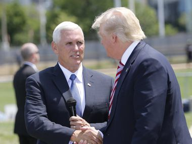 """Indiana Gov. Mike Pence is known as a conservative with a """"steady hand."""""""