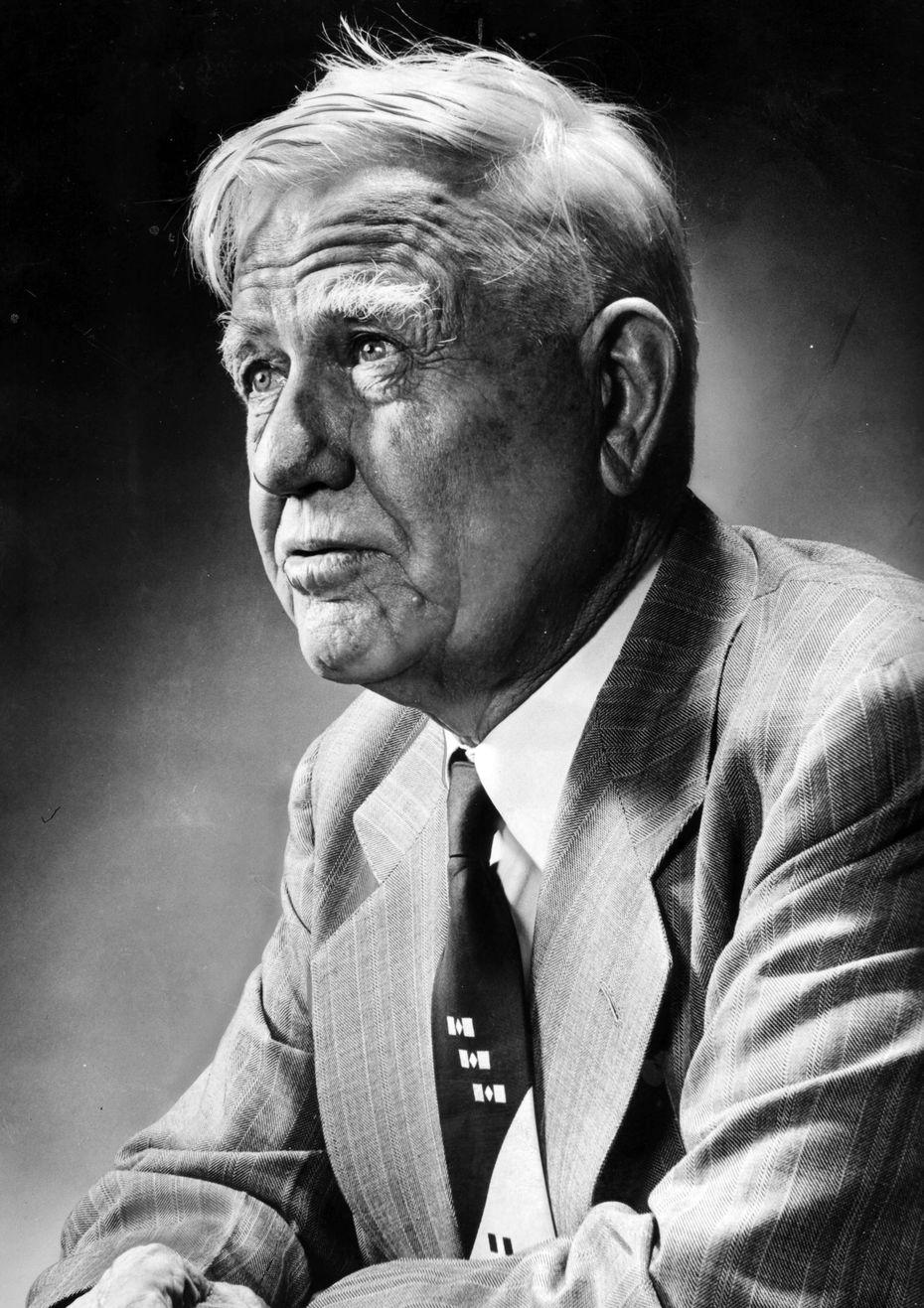 J. Frank Dobie - Texas folklorist, 1888 - 1964