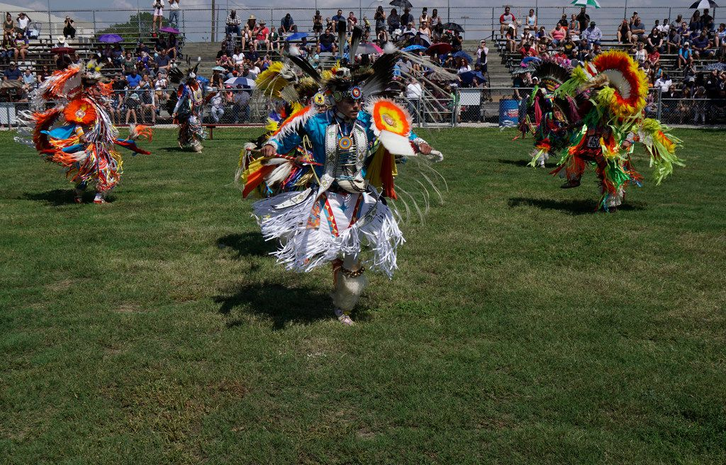 Traders Village hosted the 2018 Native American Pow Wow in Grand Prairie.