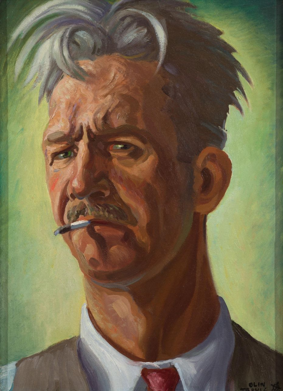 Olin Travis, 'Self-Portrait.'