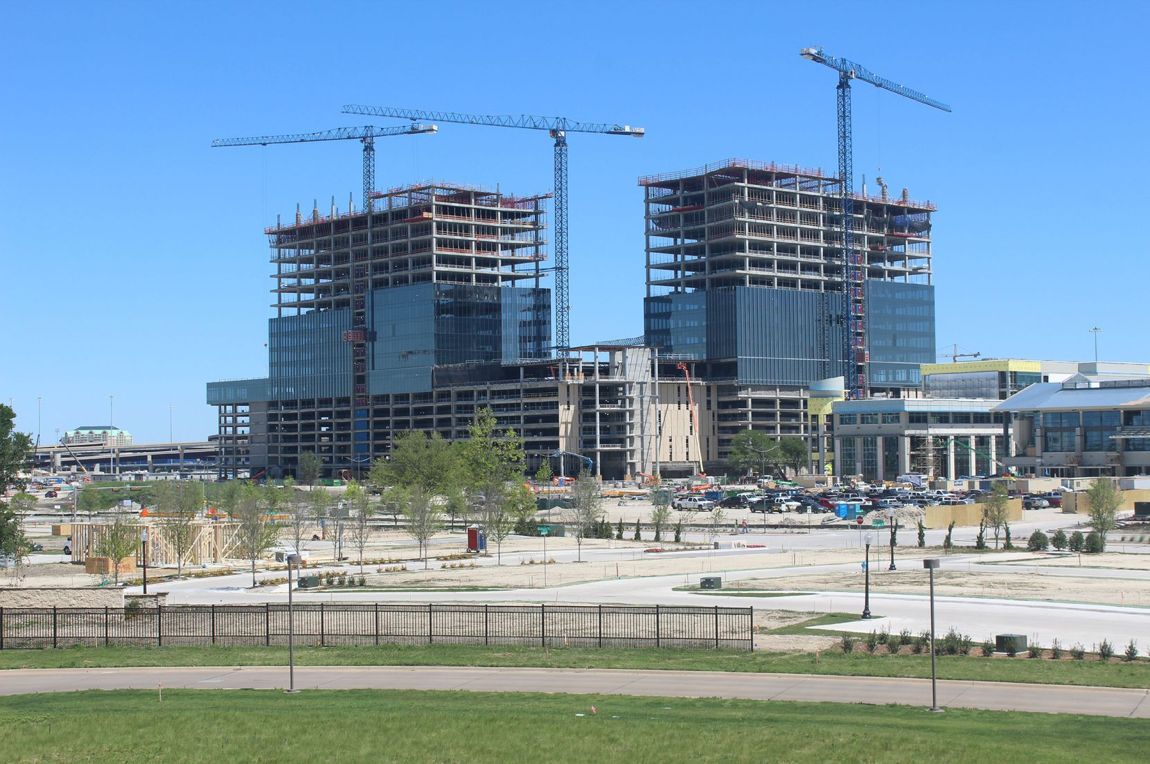 About 5,000 people will work in Liberty Mutual Insurance's new Plano tower complex.