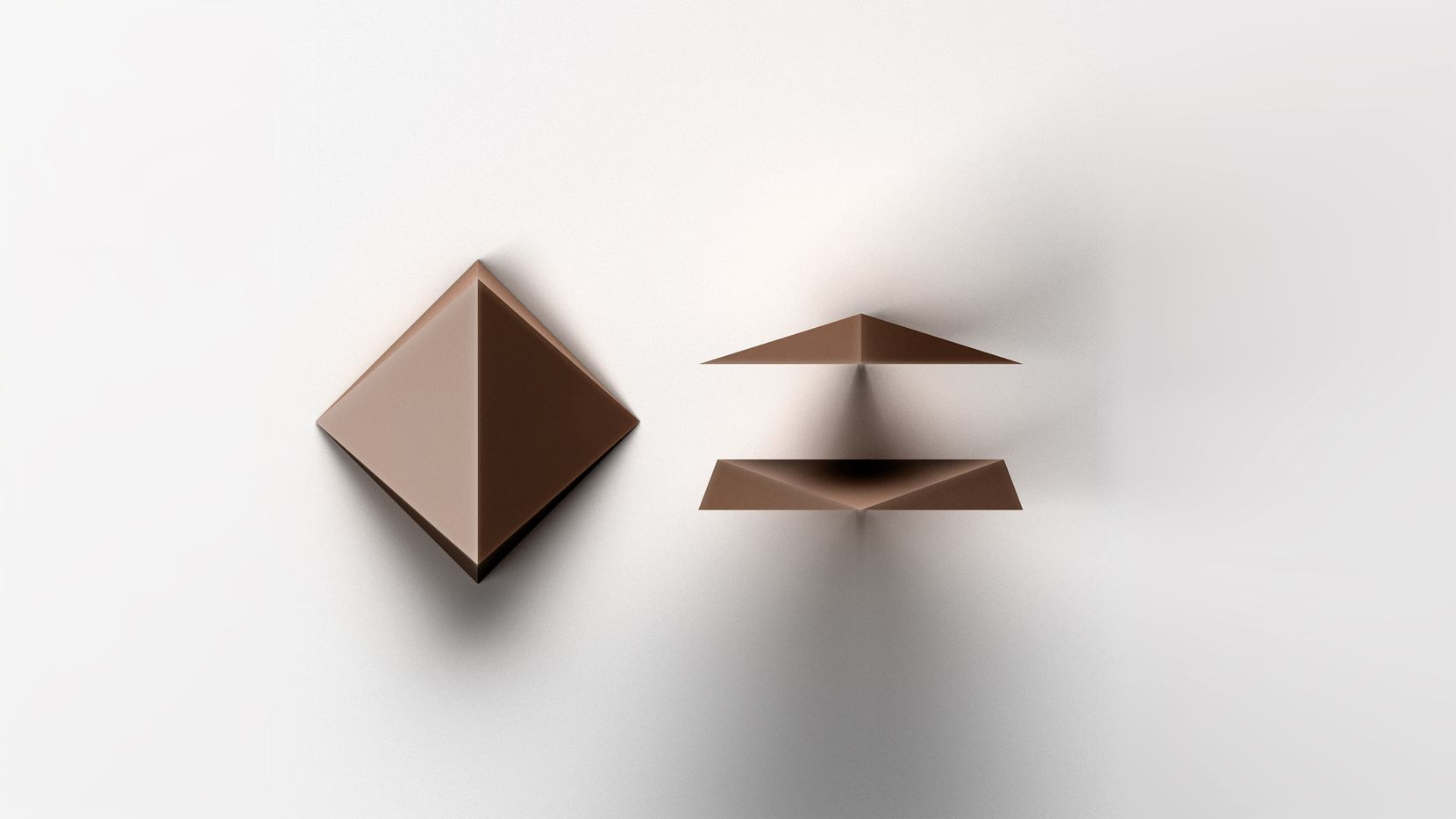 Tesla engineer Remy Labesque's redesign of the chocolate chip for artisanal Dandelion Chocolate is a square, faceted pyramid, kind of like a flattened diamond. Two edges are thick, and two exceedingly thin, for even more textural pleasure.
