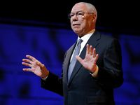 El general retirado Colin Powell en un evento de 2016 en el Meyerson Symphony Center de Dallas.