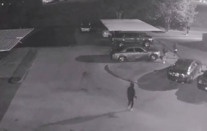 Dallas police on Wednesday released security camera footage of a group of people who authorities say attacked a security guard at a Red Bird apartment complex last week.