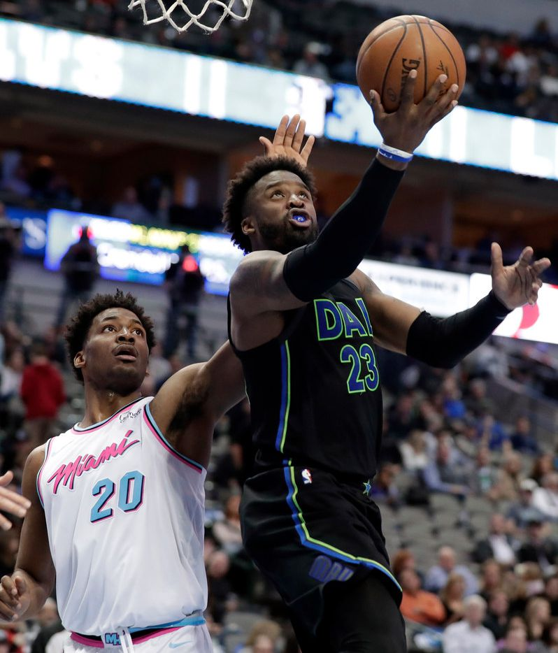 Wesley Matthews has been the subject of trade speculation, but it's nothing new for him. The Mavericks are not close on any deals as the deadline looms on Thursday. (AP Photo/Tony Gutierrez)