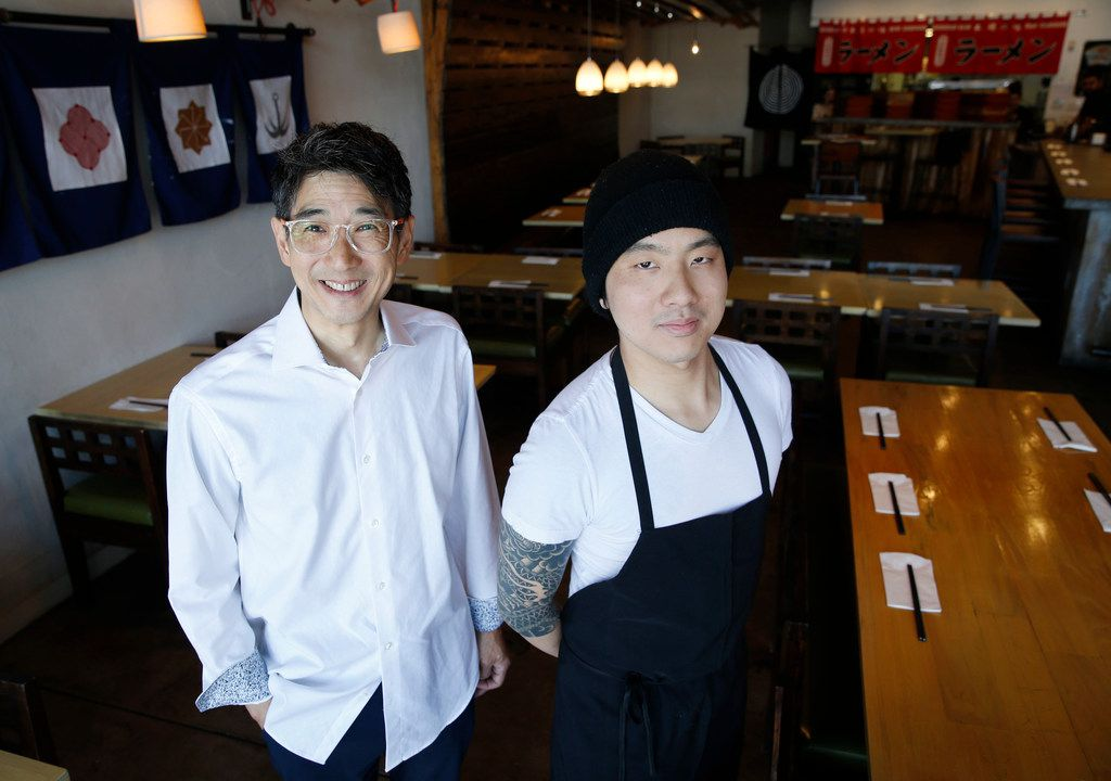 Ichigoh owners George A. Itoh and chef Andy Tam