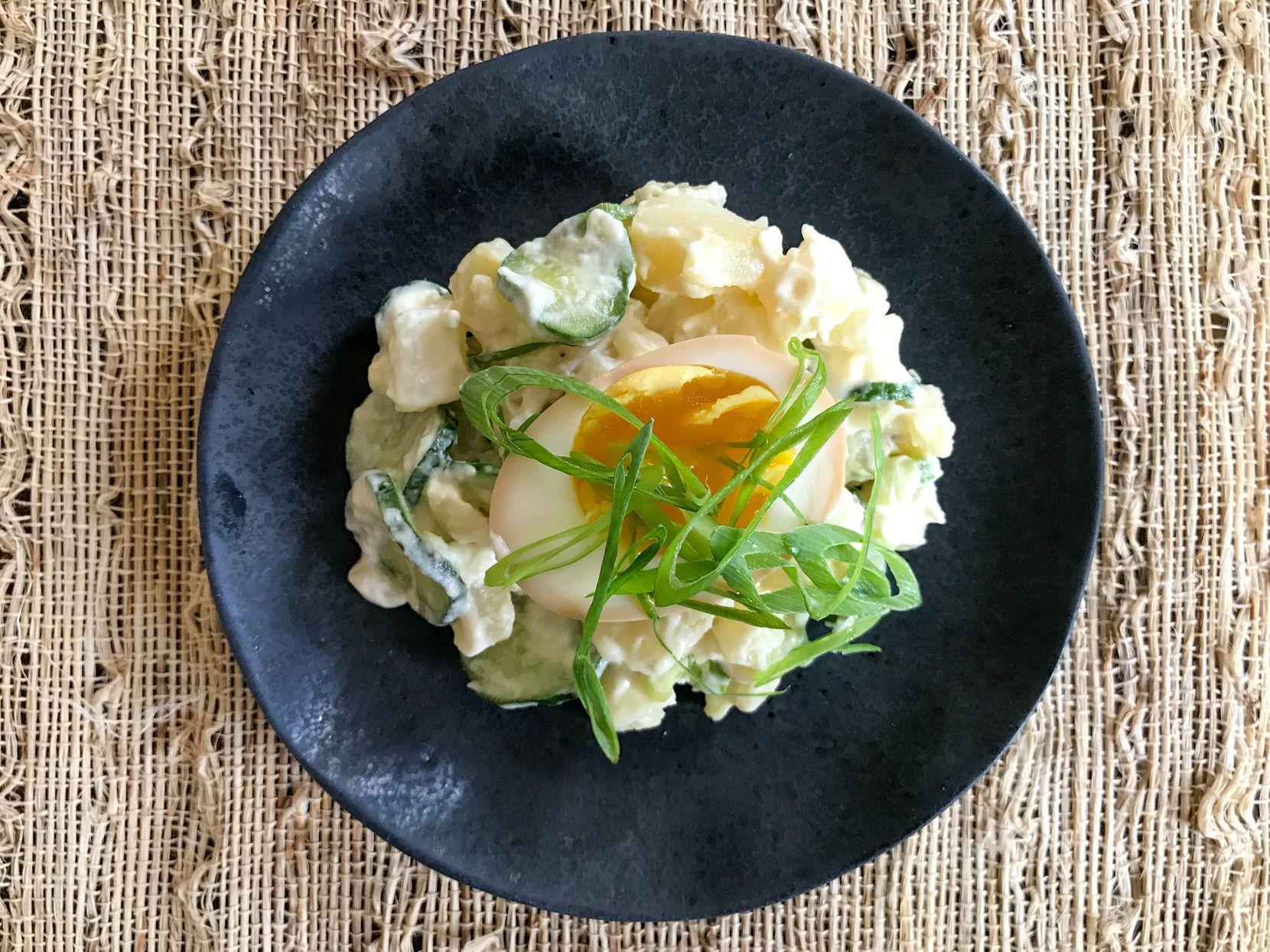 Salaryman Potato Salad from Salaryman restaurant in Dallas