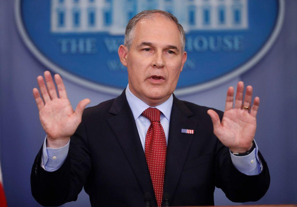 EPA Administrator Scott Pruitt is reversing  Obama-era environmental regulations at a dangerous pace.