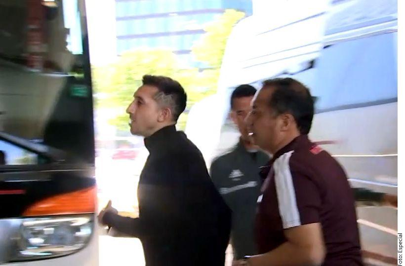 Herrera está listo para entrenar con la Selección de México./AGENCIA REFORMA