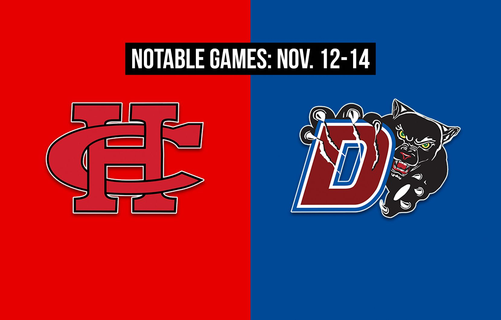 Notable games for the week of Nov. 12-14 of the 2020 season: Cedar Hill vs. Duncanville.