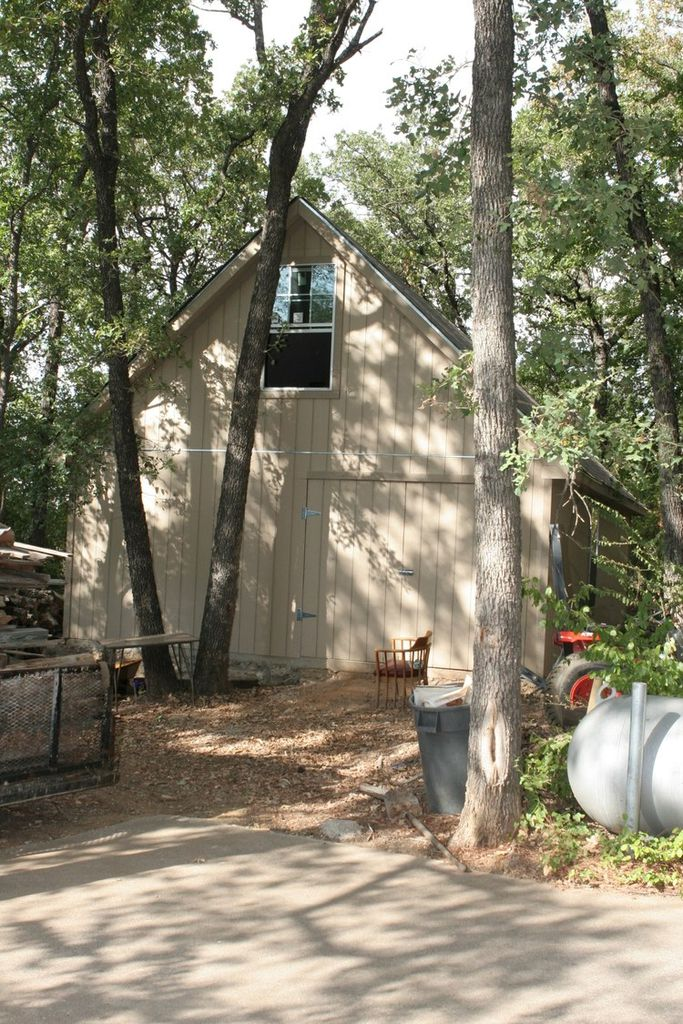 The exterior of a shed in Arlington where Amber Wyatt reported that she was raped, from a 2006 police evidence photo.