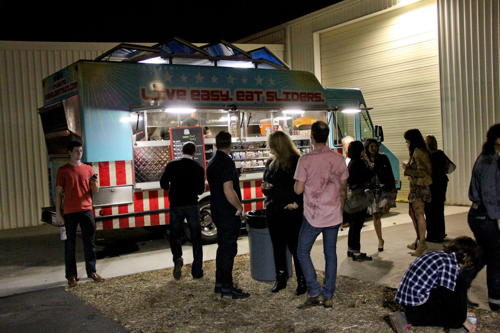 """The operators of Easy Slider food truck wrote on Facebook that they have been """"overwhelmed"""" by requests for the truck since the Dallas mayor's decree."""